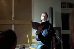Holger Haak bei der Lesung.